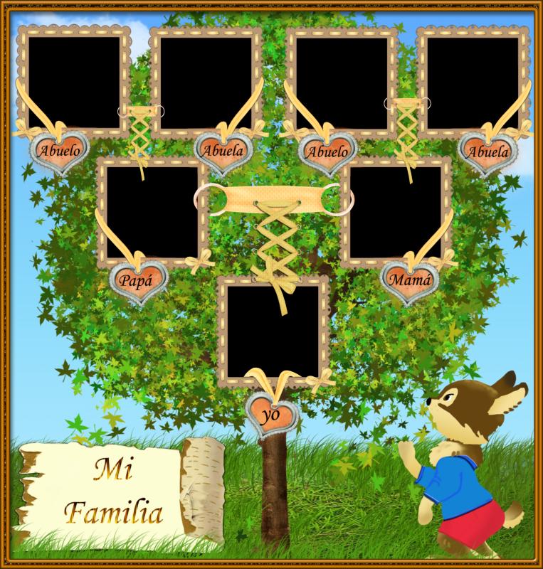 Родословное дерево семьи шаблон — Обнови квартиру