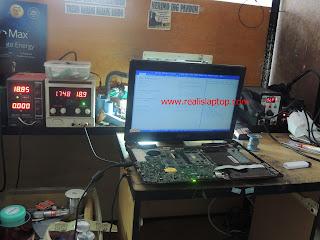 Service Laptop Asus K43SA Konslet