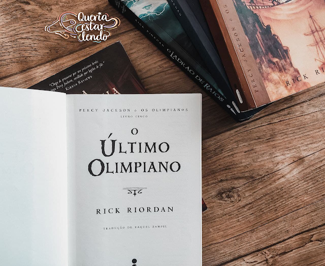 Resenha: O Último Olimpiano - Rick Riordan