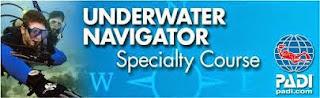 PADI Underwater Naqvigator