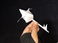 bunga tulip dari kertas
