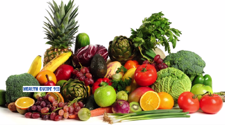 Why you should eat plenty of different fruits and vegetables?