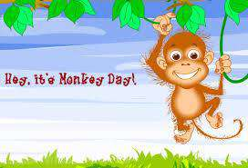 Monkey Day Wishes Images