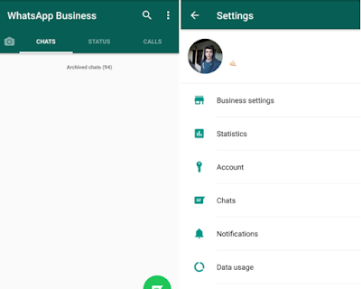 this is the image for whatsapp business