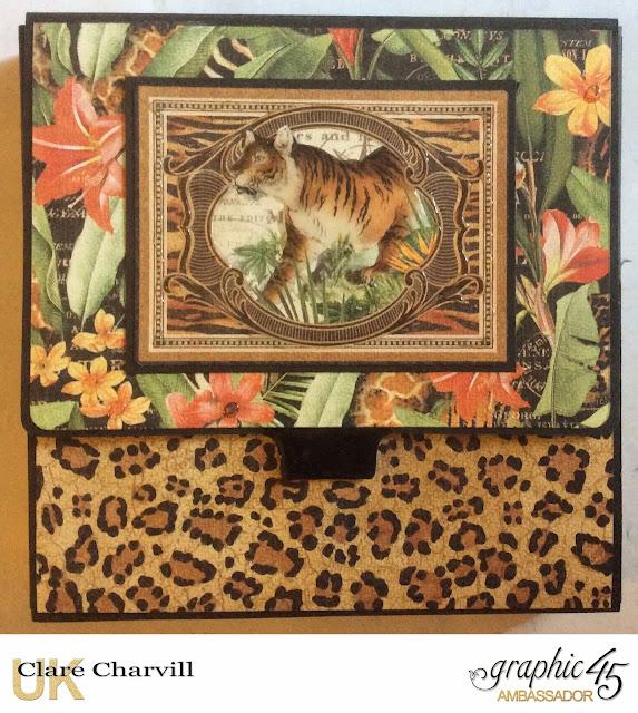 Safari Adventure Photo Wallet Clare Charvill Graphic 45