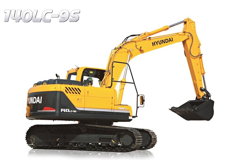 Hyundai Excavators R140LC-9S