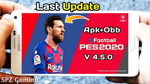 PES 2020 Mobile New Update V4.5.0 Android Best Graphics Original Logos And Kits