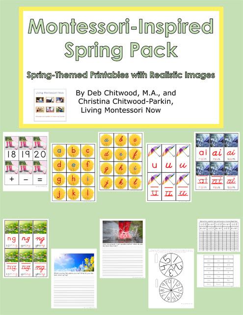 Montessori-Inspired Spring Pack