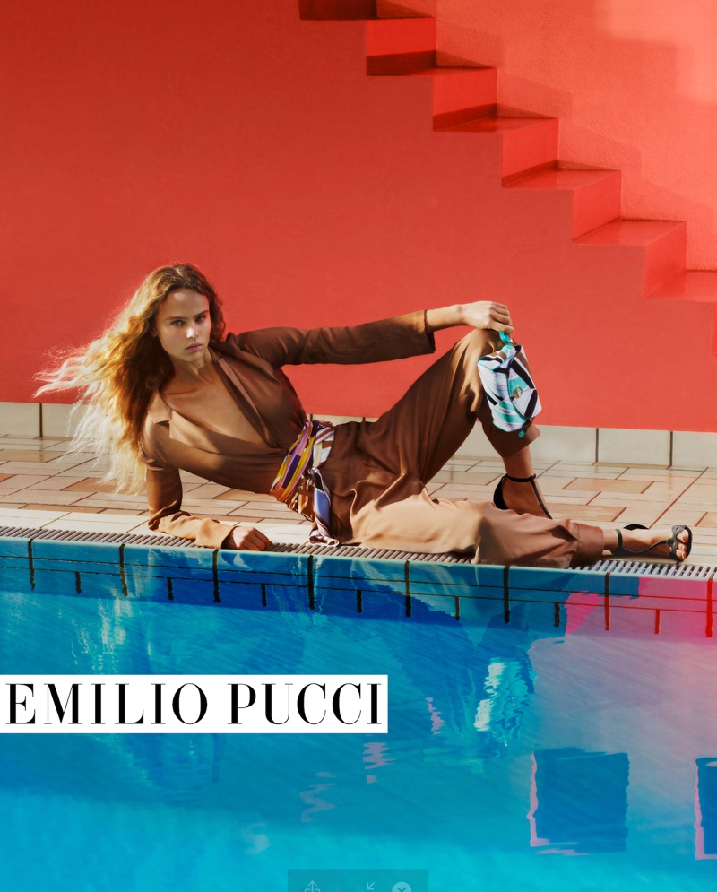 Emilio Pucci Spring/Summer 2020 Campaign