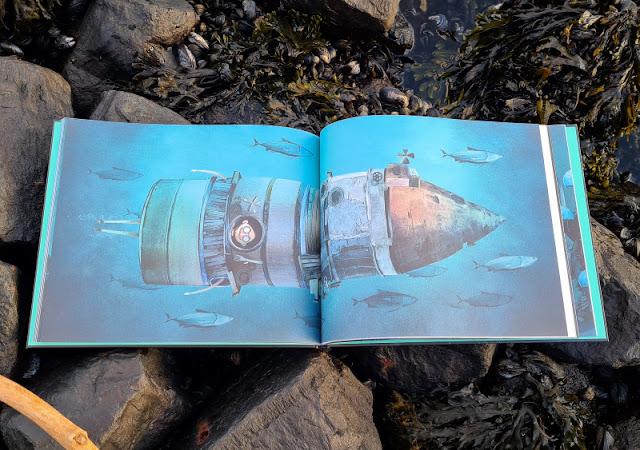 """Meine Seesucht - meine Sehnsucht: Blogparade zu einem einzigartigen maritimen Kinderbuch. Das Buch für Kinder zum Film """"Jonas and the Sea""""."""