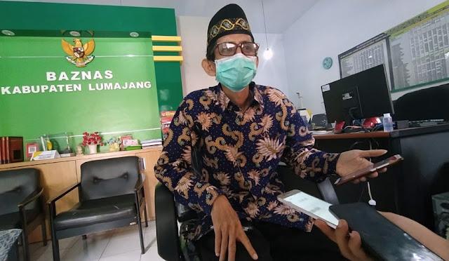 Ketua Baznas Lumajang H. Atok Hasan Sanusi