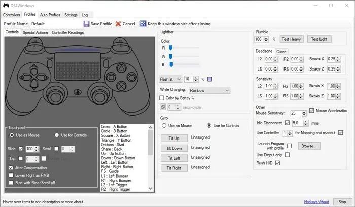 قم بتوصيل وحدة تحكم PS4 Windows Ds4windows 1