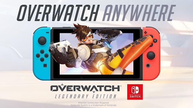Ya puedes jugar el modo multijugador de Overwatch en Nintendo Switch.