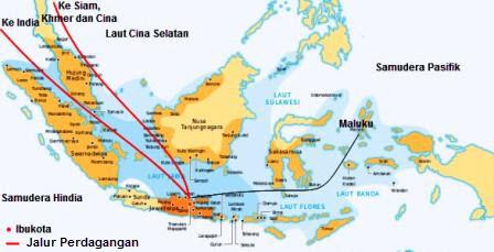 jalur perdagangan majapahit