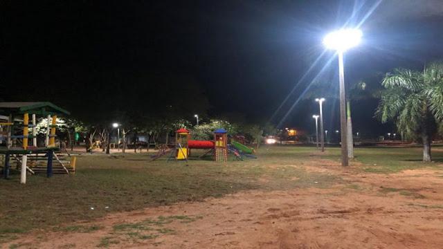Prefeitura de Adamantina realiza inauguração da iluminação do Parque dos Pioneiros