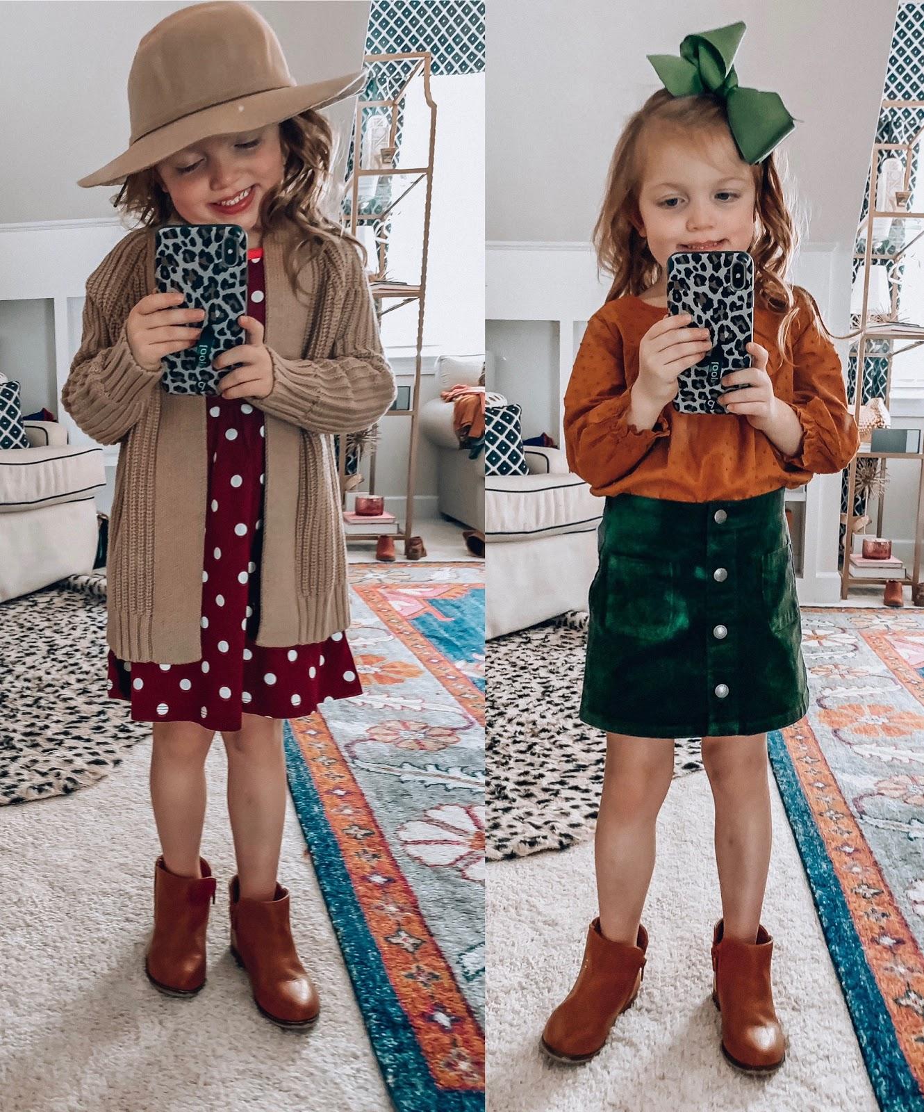 Old Navy Toddler Girls 2019 Fall Style - Madeline's Picks - Somethig Delightful Blog #affordablefashion