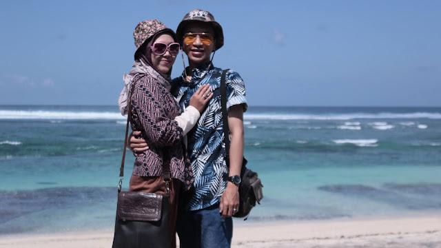 Liburan Ke Pantai Terindah DI Bali Pandawa Ketemu Bule Seksi Dan Upacara Adat Bali