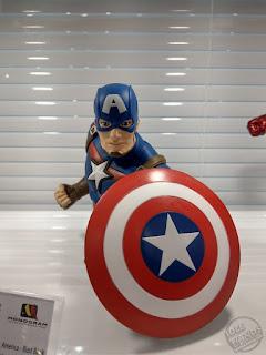 Toy Fair 2020 UK Monogram Bust Banks Marvel Comics Captain America