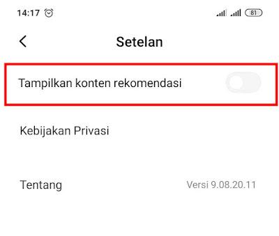Cara Ampuh Matikan Iklan di Xiaomi