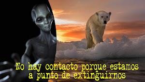 Nueva hipótesis dice que los extraterrestres no desean contactarnos porque estamos a punto de extinguirnos