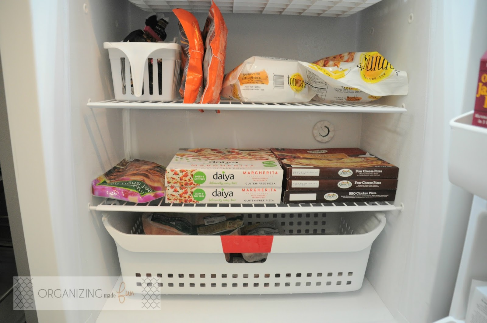 Fresh Organizing an Upright Freezer {Garage Freezer} | Organizing Made  SD99