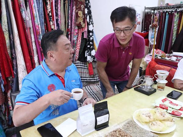 鷹谷咖啡豆評鑑全縣第一 員林市長贈匾額祝賀