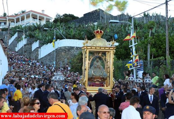 Santa Cruz de La Palma pide declarar La Bajada de la Virgen Bien de Interés Cultural