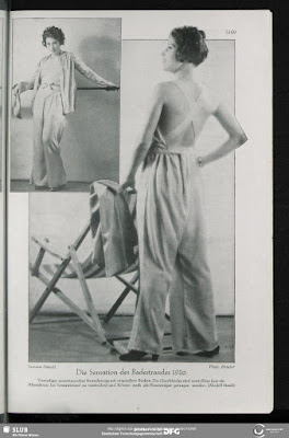 Tamara Matul modeling hat in Das Magazine, September 1930