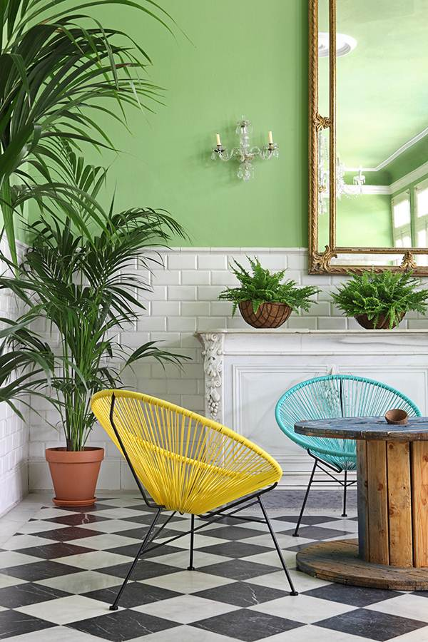 7 Lounges And Dining Rooms With Tropical Style 4