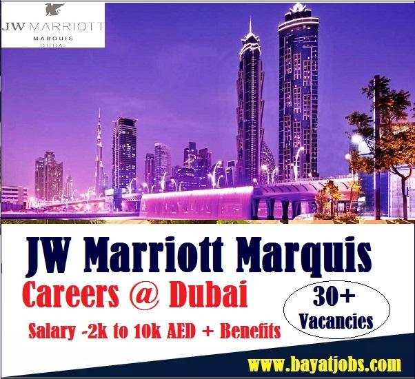 JW Marriott Marquis Hotel Dubai Latest Careers