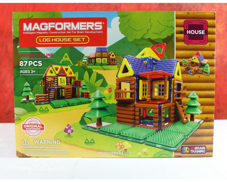 bdbac5b71762 Giveaway Holiday Guide  Magformers Log Cabin 87PC Set
