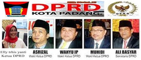 DPRD Kota Padang Bentuk Tiga Pansus)Untuk Membahas RAPBD 2018