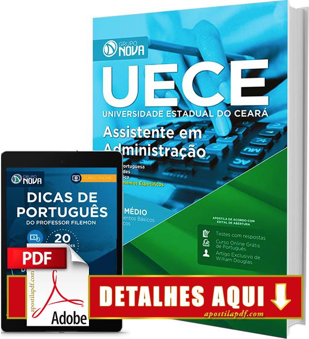 Apostila UECE 2016 Assistente em Administração Impressa