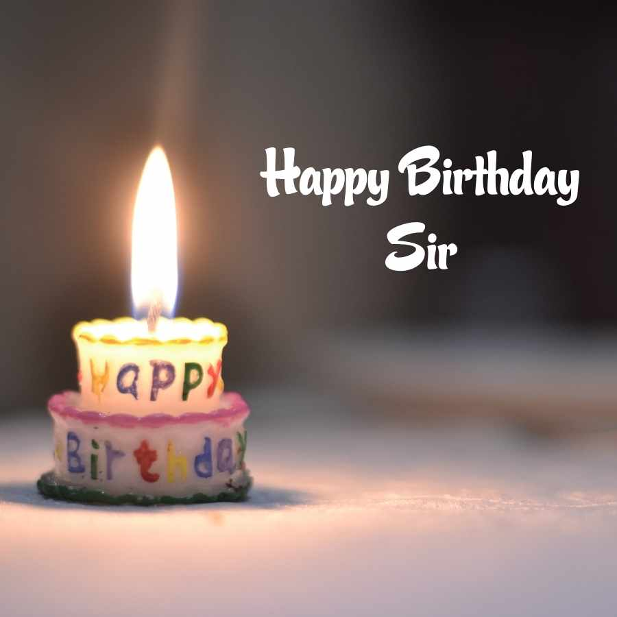 happy birth day sir