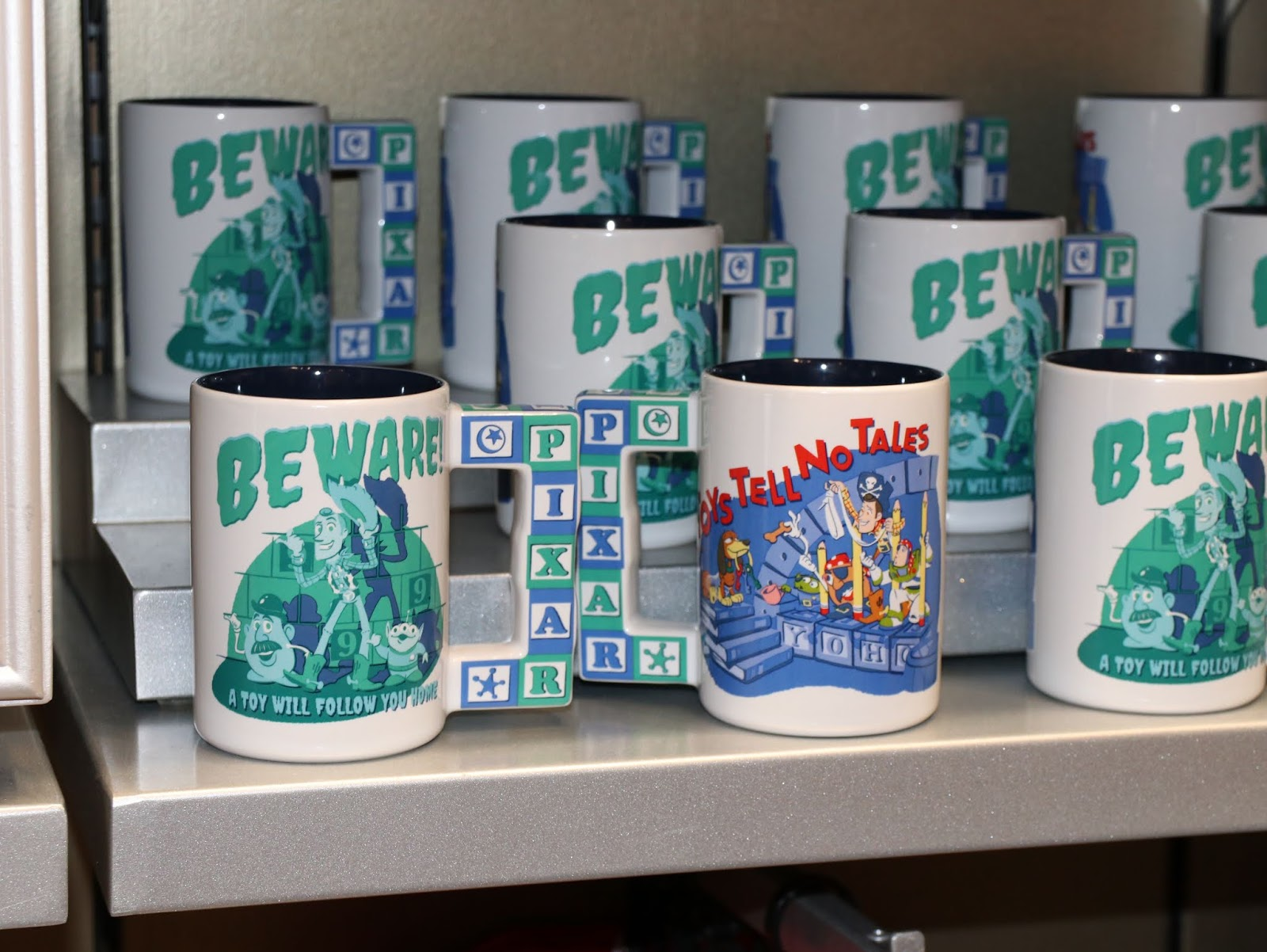 toy story haunted mansion mug