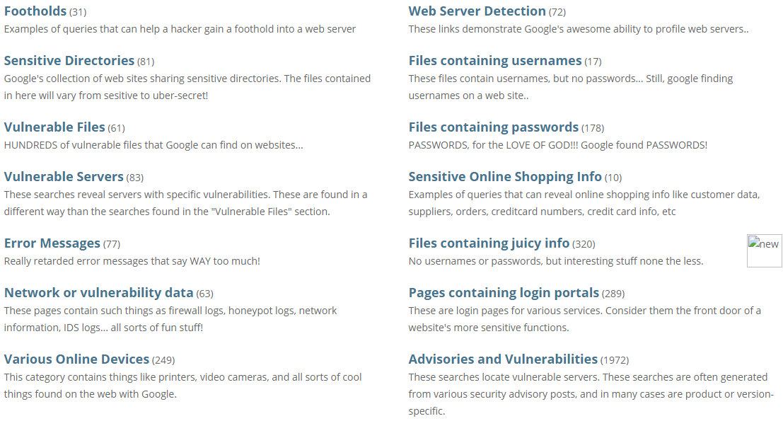 GnashSec: Hacking with Google