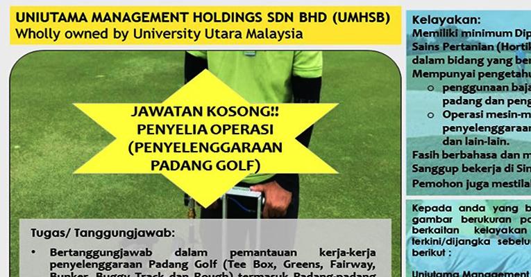 Jawatan Kosong di Uniutama Management Holding Sdn Bhd UMHSB