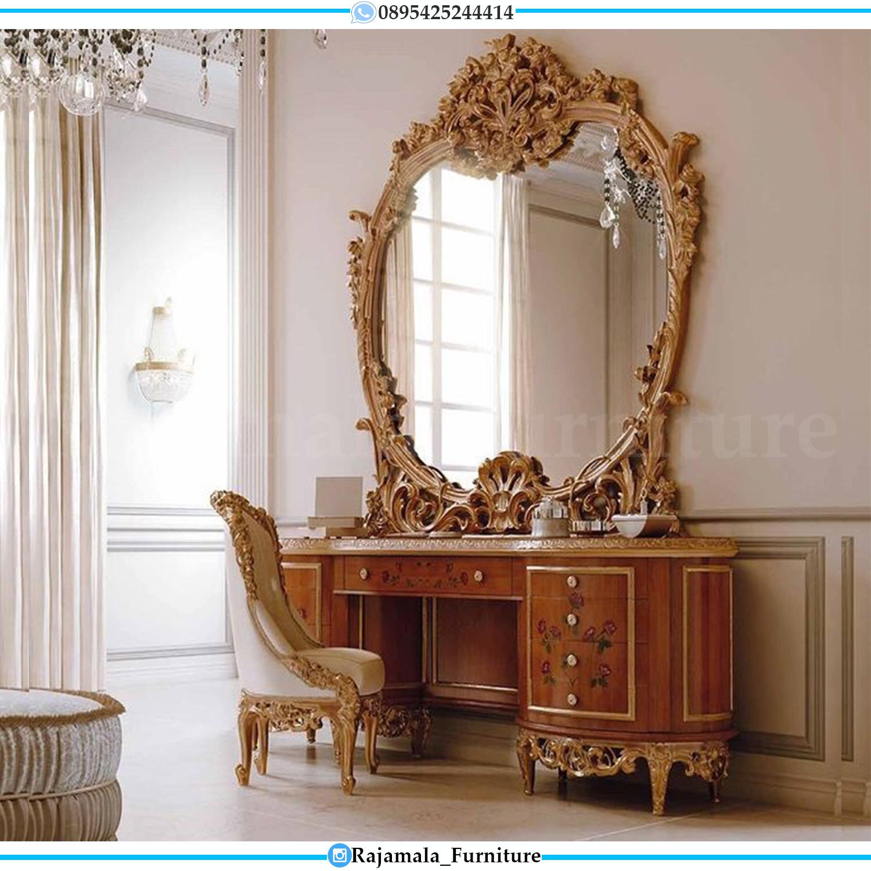 Meja Rias Ukiran Mewah Vanity Room Luxury Princes RM-0048