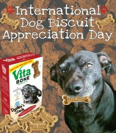 International Dog Biscuit Appreciation Day Wishes Images download