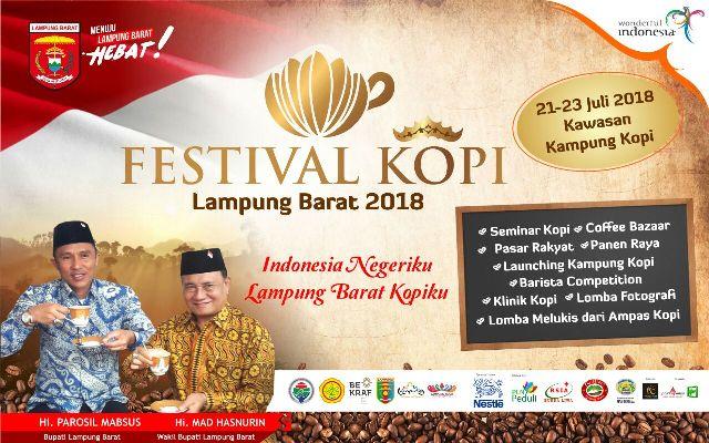 Menuju Festival Kopi Lampung Barat 21-23 Juli 2018
