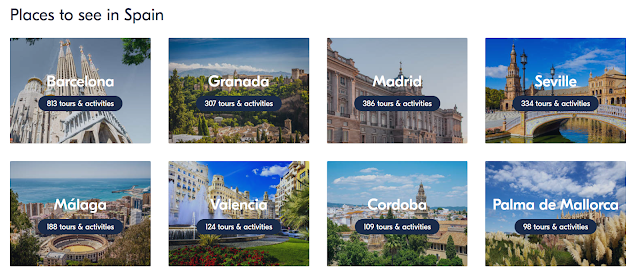 Places to see in Spain