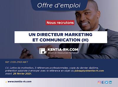 Directeur Communication et Marketing