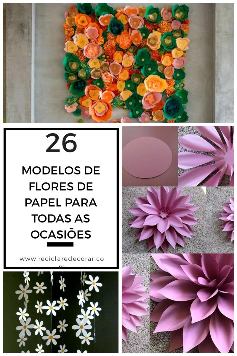 Como fazer flores de papel para todas as ocasiões