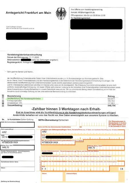 Scan: Offerte ARZ / NOV 2020