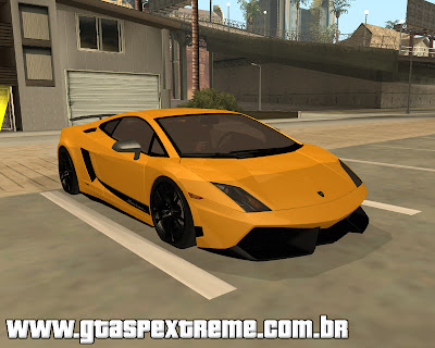 Lamborghini Gallardo LP570 4 Superleggera para grand theft auto