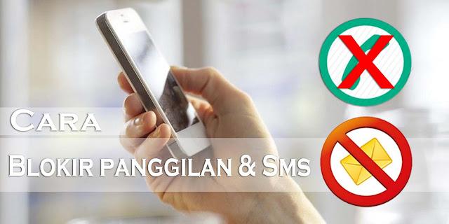 Cara Blokir Panggilan dan Sms di Hp Xiaomi Terbaru