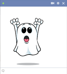 Haunting icon for Facebook