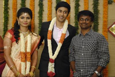ar-murugadoss-at-chinmayi-rahul-ravindran-wedding-reception