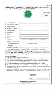 DOWNLOAD MIZORAM YOUTH COMMISSION INCENTIVE CASH AWARD
