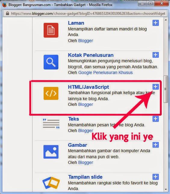 Cara Memasang Daftar Isi Posting Pada Sidebar Wordpress: Membuat Widged Kontak Kami Dan Rekening Bank